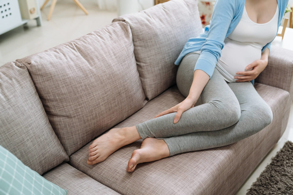 crampes pendant la grossesse